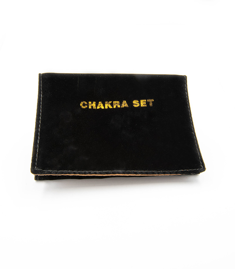Chakra Disc and Crystal Set in Wallet
