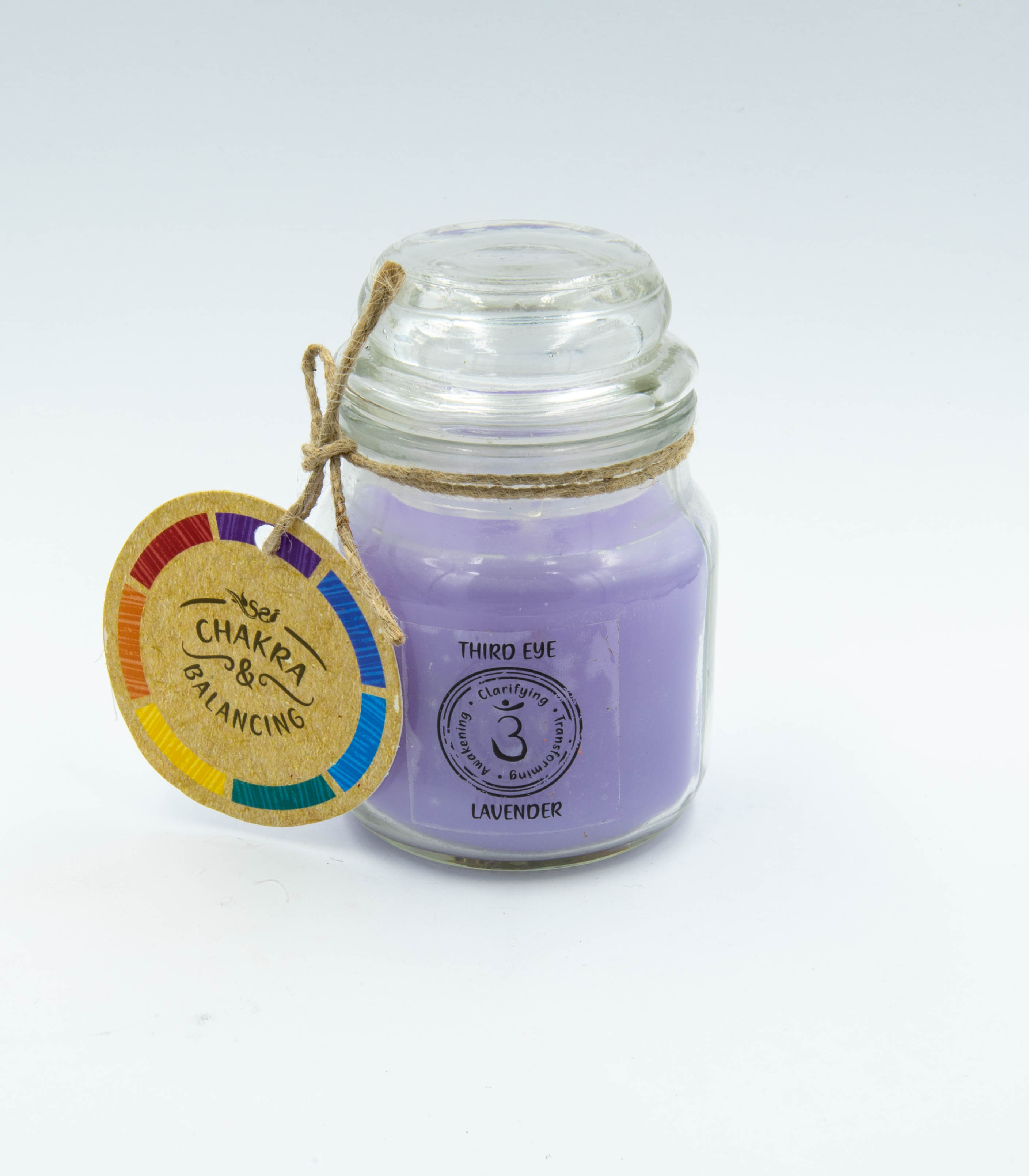 Third Eye Chakra Lavender Scented Candle