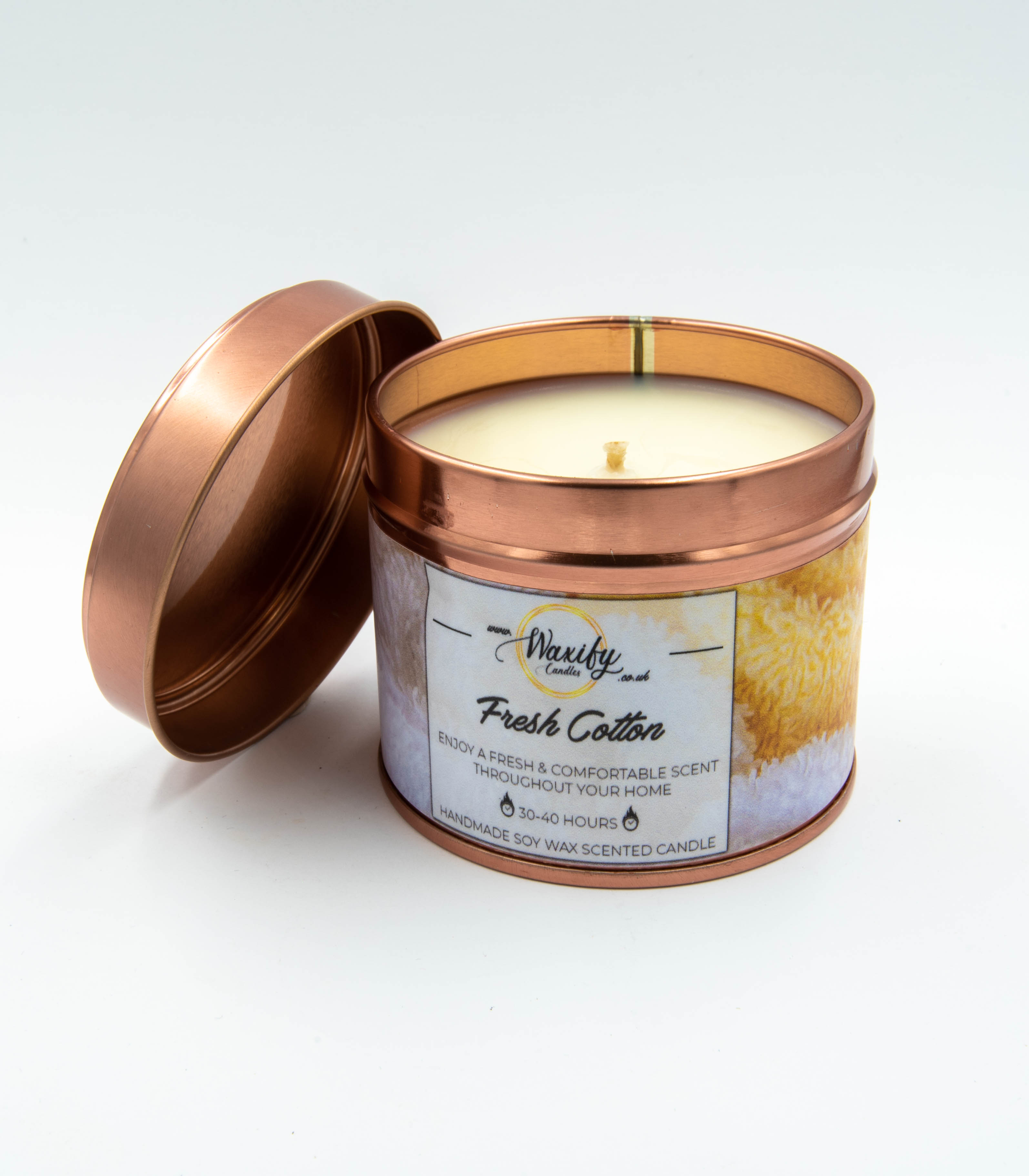 Fresh Cotton Soy Wax Candle