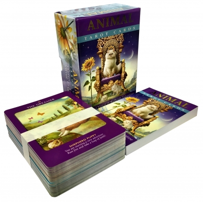 Animal Wisdom Tarot cards 78 card deck and guidebook