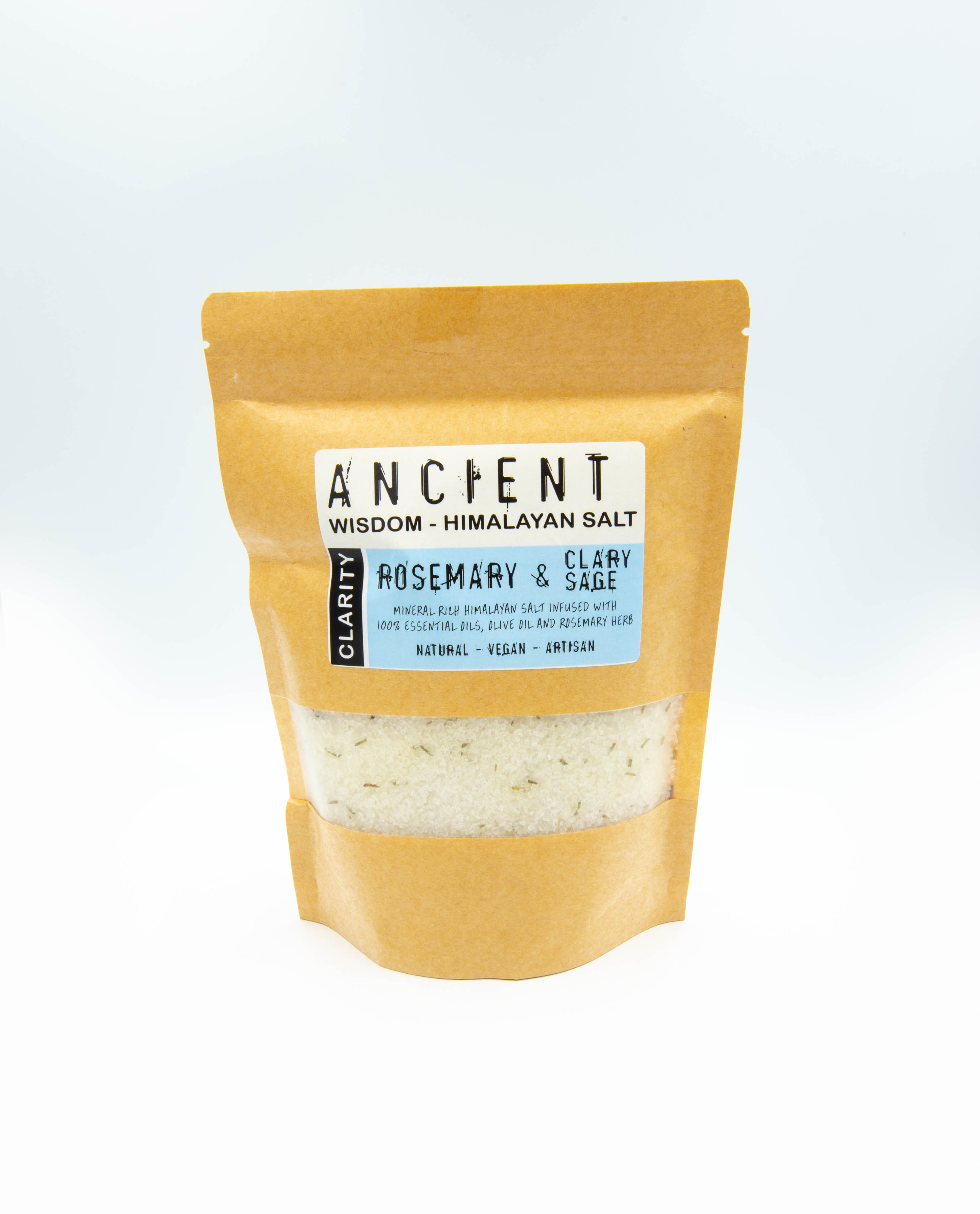 Himalayan bath salt blend Clarity - Rosemary and Clary Sage