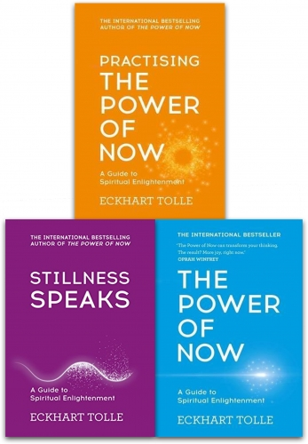 The Power of Now guide to spiritual enlightenment trilogy.