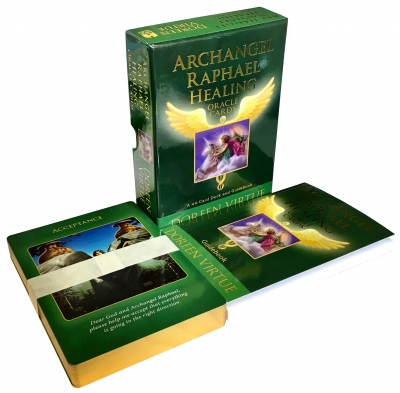 Archangel Raphael Healing oracle cards Doreen Virtue