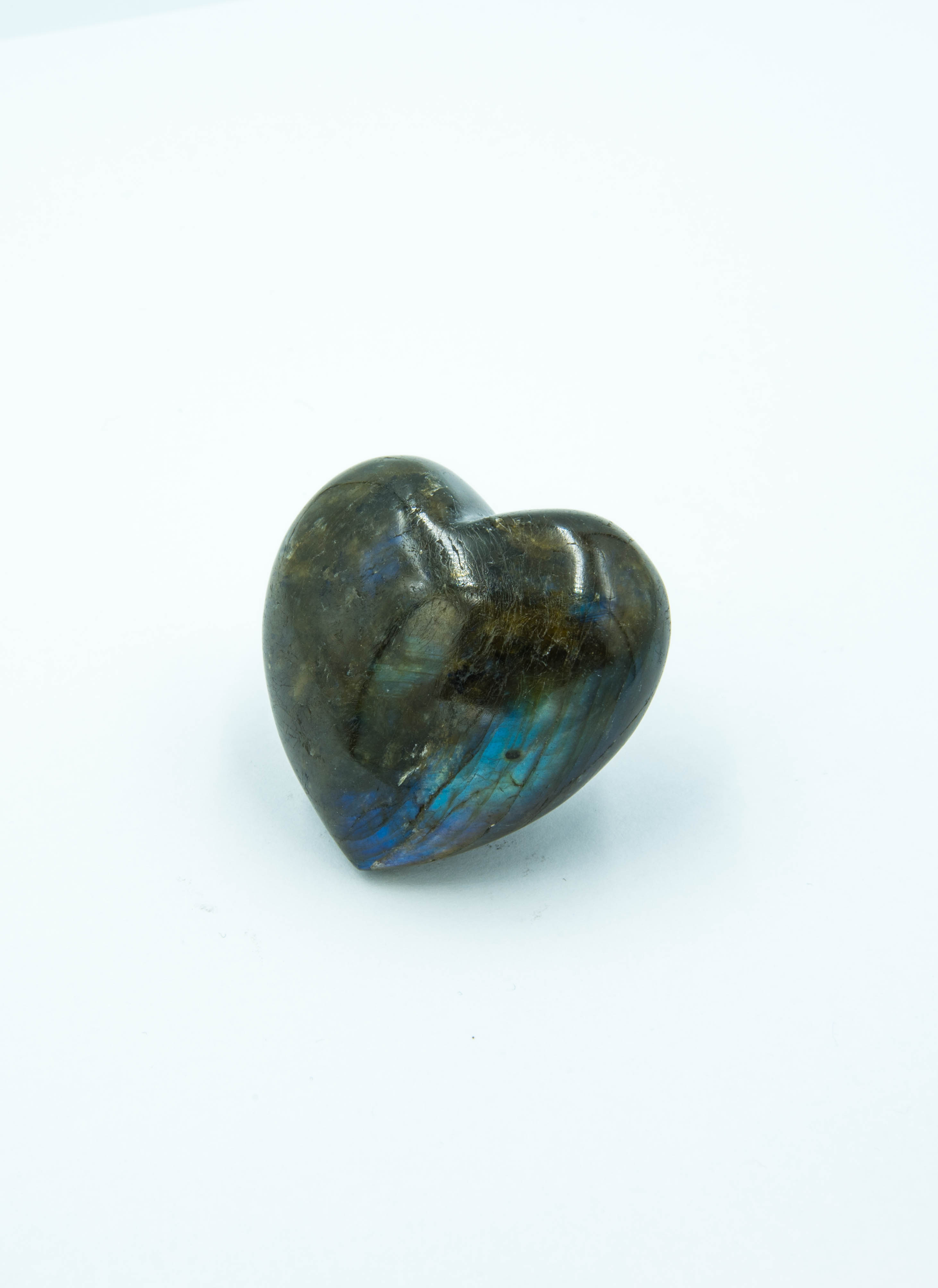 Labradorite large heart