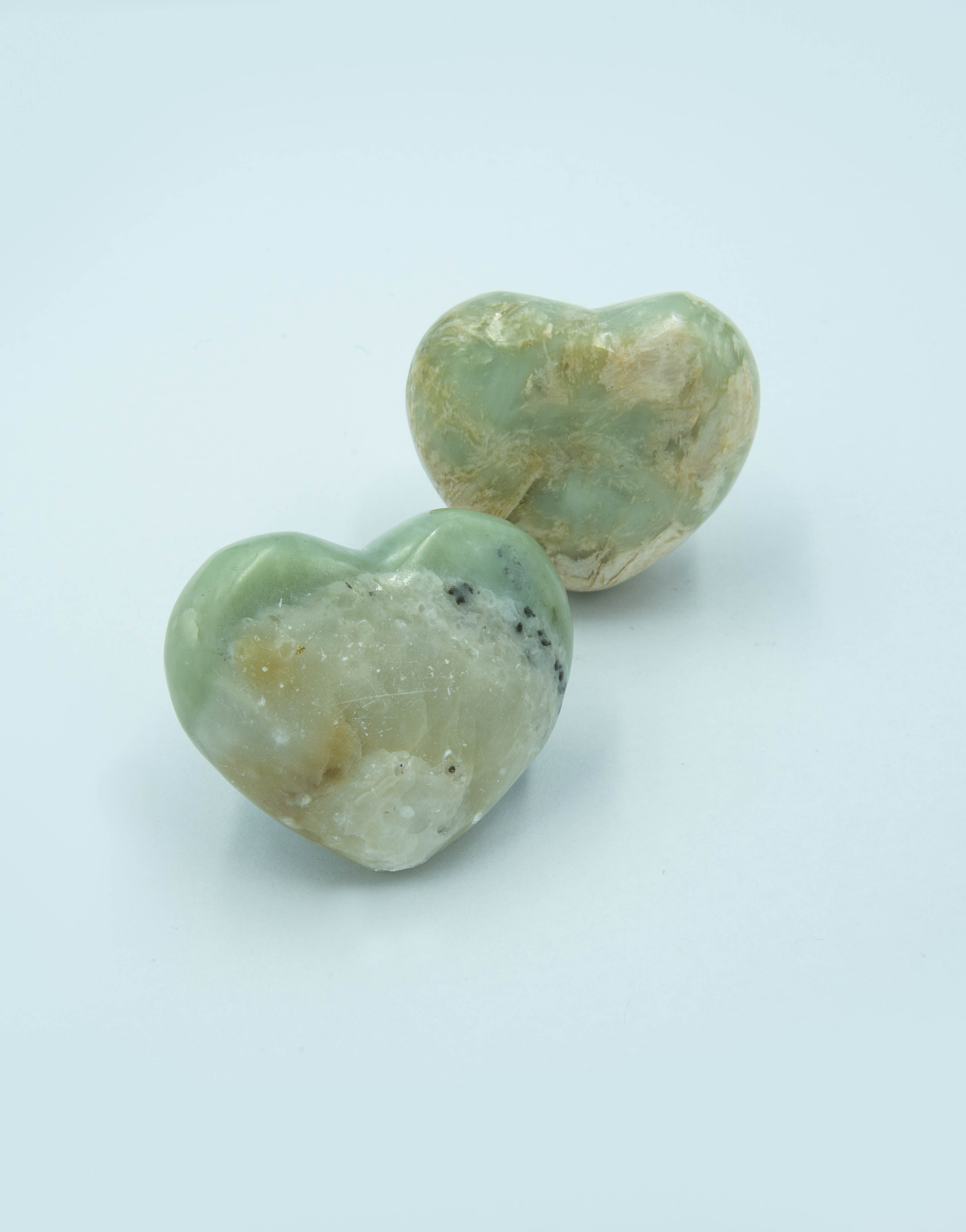 Serpentine New Jade heart