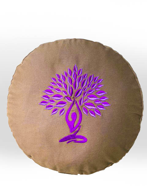 Tree Of Life Meditation Yoga Cushion
