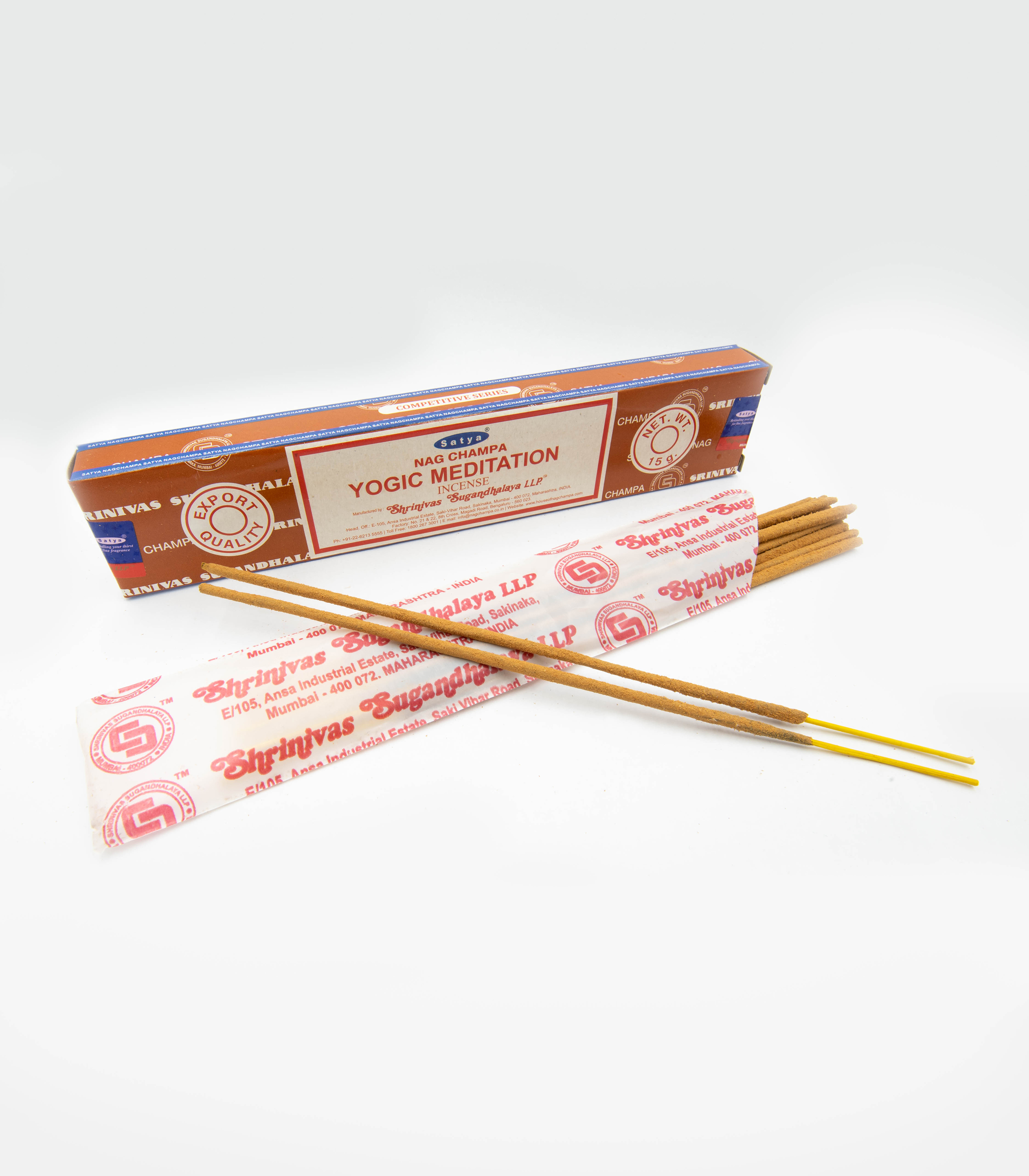 Nag Champa Yogic Meditation Incense Sticks